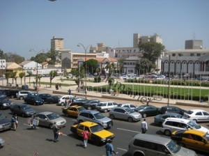 Place d'independence - Dakar